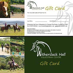 Horse Riding Gift Card